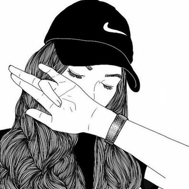 Картинки черно белые на аву вконтакте